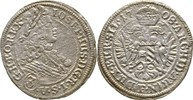 3 Kreuzer 1708 RDR Habsburg Schlesien Bres...