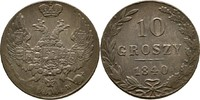 10 Groszy 1840 Polen Russland Nikolaus I.,...