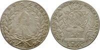 20 Kreuzer 1765 Stadt Nürnberg Franz I., 1...