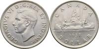 Dollar 1937 Canada George VI., 1936-1952 vz