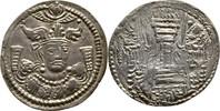 Drachme 385-390 Kidariten Indien Buddhatal...