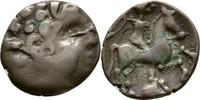 Drachme 80-60 Kelten Pictonen Gallien  ss