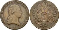 3 Kreuzer 1799 B RDR Ungarn Kremnitz Franz...