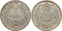 1 Mark 1914 D Kaiserreich Wilhelm II., 1888-1918 vz  8,00 EUR  +  3,00 EUR shipping