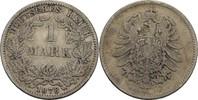 1 Mark 1878 E Kaiserreich Wilhelm I., 1861-88 s-ss  25,00 EUR  +  3,00 EUR shipping