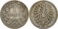 1 Mark 1878 C Kaiserreich Wilhelm I., 1861-88 ss  35,00 EUR  +  3,00 EUR shipping