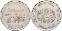 5 Dollars 1988 Singapur 100 Jahre Feuerbrigade fast Stempelglanz  14,00 EUR  +  3,00 EUR shipping