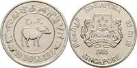 10 Dollars 1985 Singapur Jahr des Ochsen fast Stempelglanz  17,00 EUR  +  3,00 EUR shipping