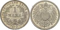 1 Mark 1914 G Kaiserreich Wilhelm II., 1888-1918 fast Stempelglanz  15,00 EUR  +  3,00 EUR shipping