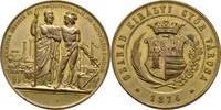 Medaille 1874 Österreich Ungarn Györ Raab  winzige Randkerben, vz  100,00 EUR  +  3,00 EUR shipping