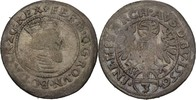 3 Kreuzer 1556 RDR Tirol Hall Ferdinand I., 1521-1564. ss  65,00 EUR  +  3,00 EUR shipping
