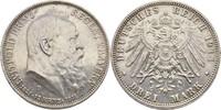 3 Mark 1911 Bayern München Prinzregent Luitpold, 1887-1912 gereinigt, vz  20,00 EUR  +  3,00 EUR shipping