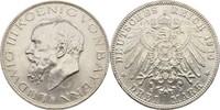 3 Mark 1911 Bayern München Prinzregent Luitpold, 1887-1912 gereinigt,kl... 30,00 EUR  +  3,00 EUR shipping