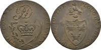 1/2 Penny Token 1789 Grossbritannien Suffolk  kl. Schrötlingsfehler, vz  40,00 EUR  +  3,00 EUR shipping