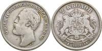 2 Kronor 1876 Schweden Oscar II., 1872-1907 f.ss  17,00 EUR  +  3,00 EUR shipping