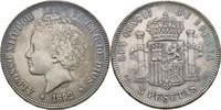 5 Peseta 1892 (92) Spanien Alfonso XIII. Kratzer, fvz  45,00 EUR  +  3,00 EUR shipping