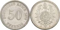 50 Pfennig 1876 F Kaiserreich Wilhelm I., 1861-88 ss/ss-  13,00 EUR  +  3,00 EUR shipping