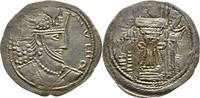 Drachme 356-410? INDIA, Kushano-Sasanian. Vahran Kushanshah, 356-410 ? vz  375,00 EUR free shipping
