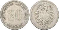 20 Pfennig 1874 D Kaiserreich Wilhelm I., 1861-88 s  5,00 EUR  +  3,00 EUR shipping