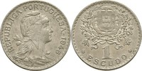 1 Escudo 1945 Portugal  fast prägefrisch  30,00 EUR  +  3,00 EUR shipping