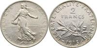 2 Francs 1915 Frankreich Säerin fast Stempelglanz  25,00 EUR  +  3,00 EUR shipping