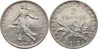 2 Francs 1917 Frankreich Säerin fast Stempelglanz  25,00 EUR  +  3,00 EUR shipping
