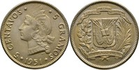 5 Centavos 1951 Dominikanische Republik  fast Stempelglanz  20,00 EUR  +  3,00 EUR shipping