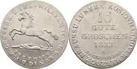 16 Gute Groschen 1833 Hannover Wilhelm IV., 1830-1837 kl. Kratzer, f.vz  55,00 EUR  +  3,00 EUR shipping