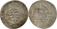 1/48 Taler 1812 Sachsen Friedrich August III./I., 1763-1827 Bug am Rand... 15,00 EUR  +  3,00 EUR shipping