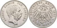 5 Mark 1901 Sachsen Albert, 1873-1902 kl. Kratzer, ss  55,00 EUR  +  3,00 EUR shipping