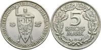 5 Reichsmark 1925 Deutsches Reich  kl. Kratzer, ss+  70,00 EUR  +  3,00 EUR shipping
