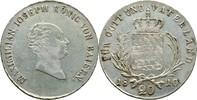 20 Kreuzer 1810 Bayern München Maximilian IV./I., 1799-1825 justiert, f... 85,00 EUR  +  3,00 EUR shipping