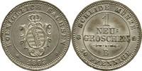 Neugroschen 1863 Sachsen Dresden Johann, 1854-1873 f. Stempelglanz  20,00 EUR  +  3,00 EUR shipping