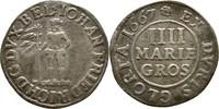 4 Mariengroschen 1667 Braunschweig Calenberg Hannover Johann Friedrich,... 20,00 EUR  +  3,00 EUR shipping