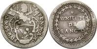 Grosso 1785 Vatikan Rom Pius VI. 1775-1799 Druckstelle, ss  20,00 EUR  +  3,00 EUR shipping