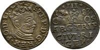 Dreigröscher Trojak 1583 Polen Lettland Riga Stephan Bathory, 1576-1586... 60,00 EUR  +  3,00 EUR shipping