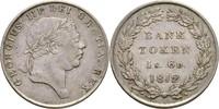 1 Shilling 6 Pence Banktoken 1812 Großbritannien George III., 1760-1820... 110,00 EUR  +  3,00 EUR shipping