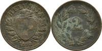 2 Rappen 1893 B Schweiz  ss Patina  5,00 EUR  +  3,00 EUR shipping