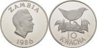 10 Kwacha 1986 Sambia 25 Jahre WWF - Spiegelralle PP offen, minimale Ko... 20,00 EUR  +  3,00 EUR shipping