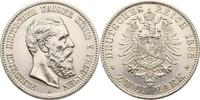2 Mark 1888 Preussen Berlin Friedrich III....
