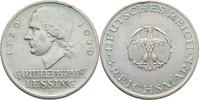 3 Reichsmark 1929 A Deutsches Reich Gotthold Ephraim Lessing kl. Randsc... 48,00 EUR  +  3,00 EUR shipping