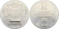 10 Mark 1982 DDR Berlin Eröffnung Neues Gewandhaus Leipzig prfr  25,00 EUR  +  3,00 EUR shipping