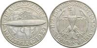 3 Reichsmark 1930 D Deutsches Reich Weltflug Graf Zeppelin ss/vz  55,00 EUR  +  3,00 EUR shipping