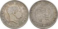 Halfcrown 1819 Großbritannien George III.,...