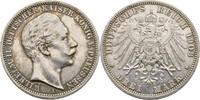 3 Mark 1908 Preussen Berlin Wilhelm II., 1888-1918 ss  15,00 EUR  +  3,00 EUR shipping