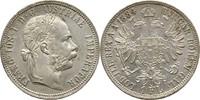 Gulden Florin 1884 Austria Habsburg Wien Franz Joseph, 1848-1916 fast S... 30,00 EUR  +  3,00 EUR shipping