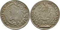 20 Kreuzer 1765 RDR Ungarn Habsburg Nagyba...