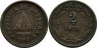 2 Centavos 1920 Honduras  ss  10,00 EUR  +  3,00 EUR shipping