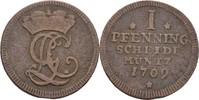 Pfennig 1709 Braunschweig Calenberg Hannover Georg I. Ludwig, 1698-1727... 25,00 EUR  +  3,00 EUR shipping