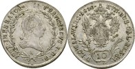 10 Kreuzer 1810 Austria Habsburg Wien Franz II./I., 1792-1835 ss/ss+  175,00 EUR  +  3,00 EUR shipping